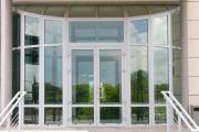 Алюминиевые двери алютех фото2
