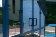 алюминиевые двери Alutech W62 фото 6