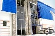 Остекление фасада в санатории Червона Рута в с.Рудыки киевск. обл. фото 1