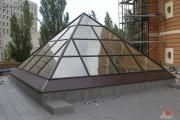 наши работы зенитный фонарь в Киеве фото 4