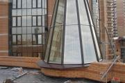 наши работы зенитный фонарь в Киеве фото 5
