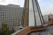 наши работы зенитный фонарь в Киеве фото 6