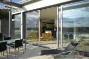 DEU, Deutschland, NRW, Dusseldorf; Wohnen am Rhein, Haus B.Fertigstellung 2007;