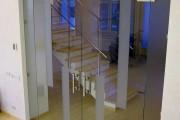 раздвижные стеклянные перегородки киев фото 3