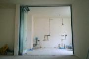 стеклянные раздвижные двери фото 6