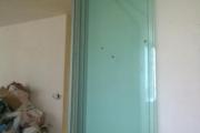 стеклянные раздвижные двери фото 4