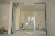 стеклянные раздвижные двери фото 5