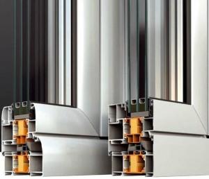 теплые алюминиевый профиль для окон и дверей фото 2