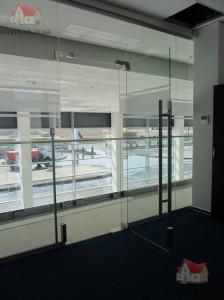 стеклянные двери киев фото 1