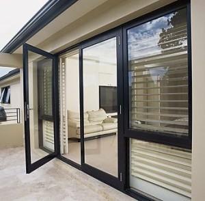 алюминиевые двери изображение 1