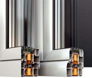 Алюминиевые окна и двери alumil-s60