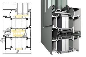 Алюминиевые окна и двери reynaers_cs_104