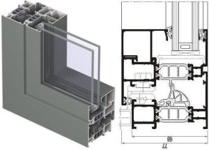 Алюминиевые окна и двери reynaers cs 77