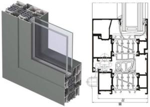 Алюминиевые окна и двери reynaers cs 86-hi