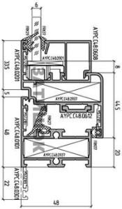 Схема Alutech c48