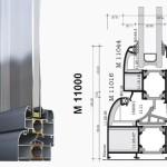 алюминиевій профиль Alumil M11000