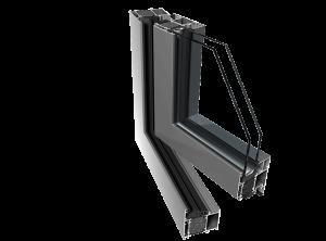 алюминиевая система Ponzio PE 68 HI фото