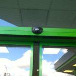 Автоматические алюминиевые двери в Гостомеле фото