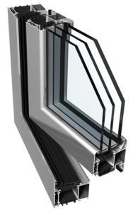 алюминиевые окна Ponzio PE78N