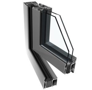 алюминиевые окна ponzio pe68hi