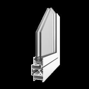 алюминиевые окна Altest Pony-375