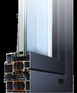 алюминиевые окна Alumil M11500